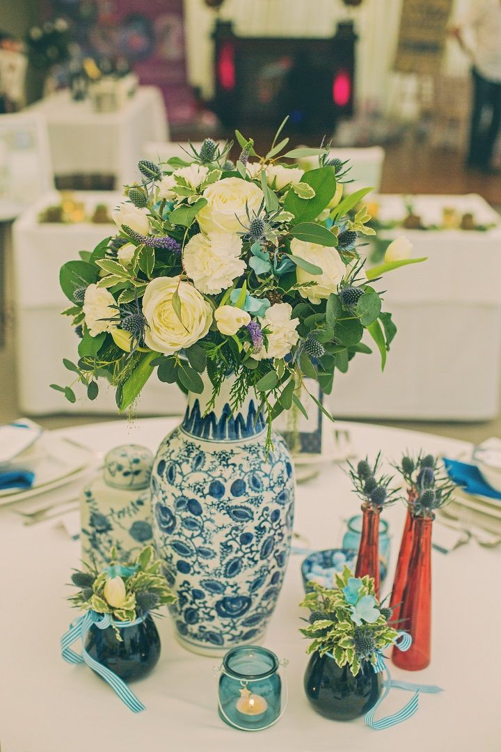 Pantone's Lapis Blue | Wedding decoration ideas | fabmood.com #wedding #pantone2017 #lapisblue