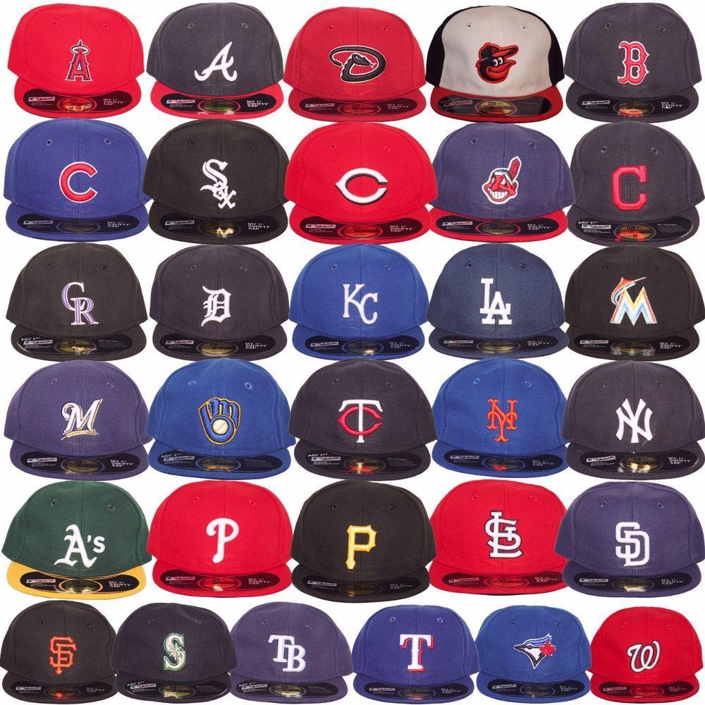 New Era Mlb Infants Newborn Baby My 1st 59fifty 5950 Fitted Baseball Cap Hat Ebay Womens Baseball Cap Newborn Boy Hats Baby Boy Hats