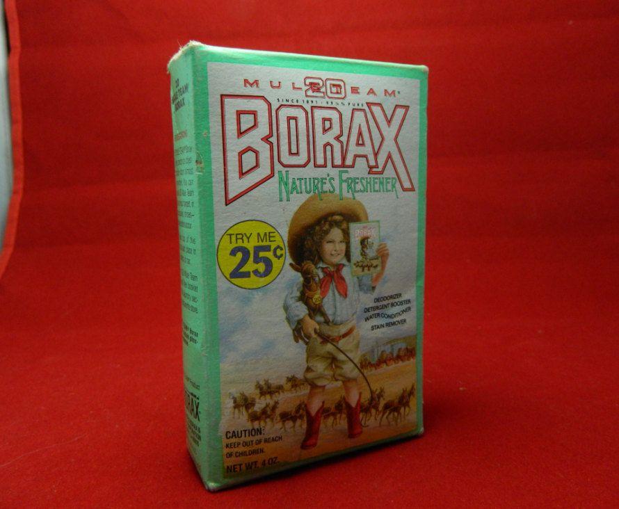 Vintage 20 Mule Team Borax 1985 Unopened Box 20 Mule Team Borax Borax Little Cowgirl