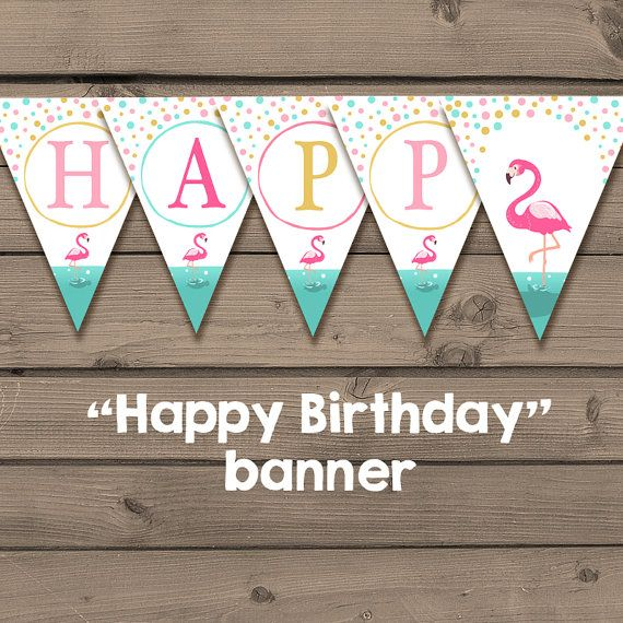 a printable happy birthday banner perfect decoration for your