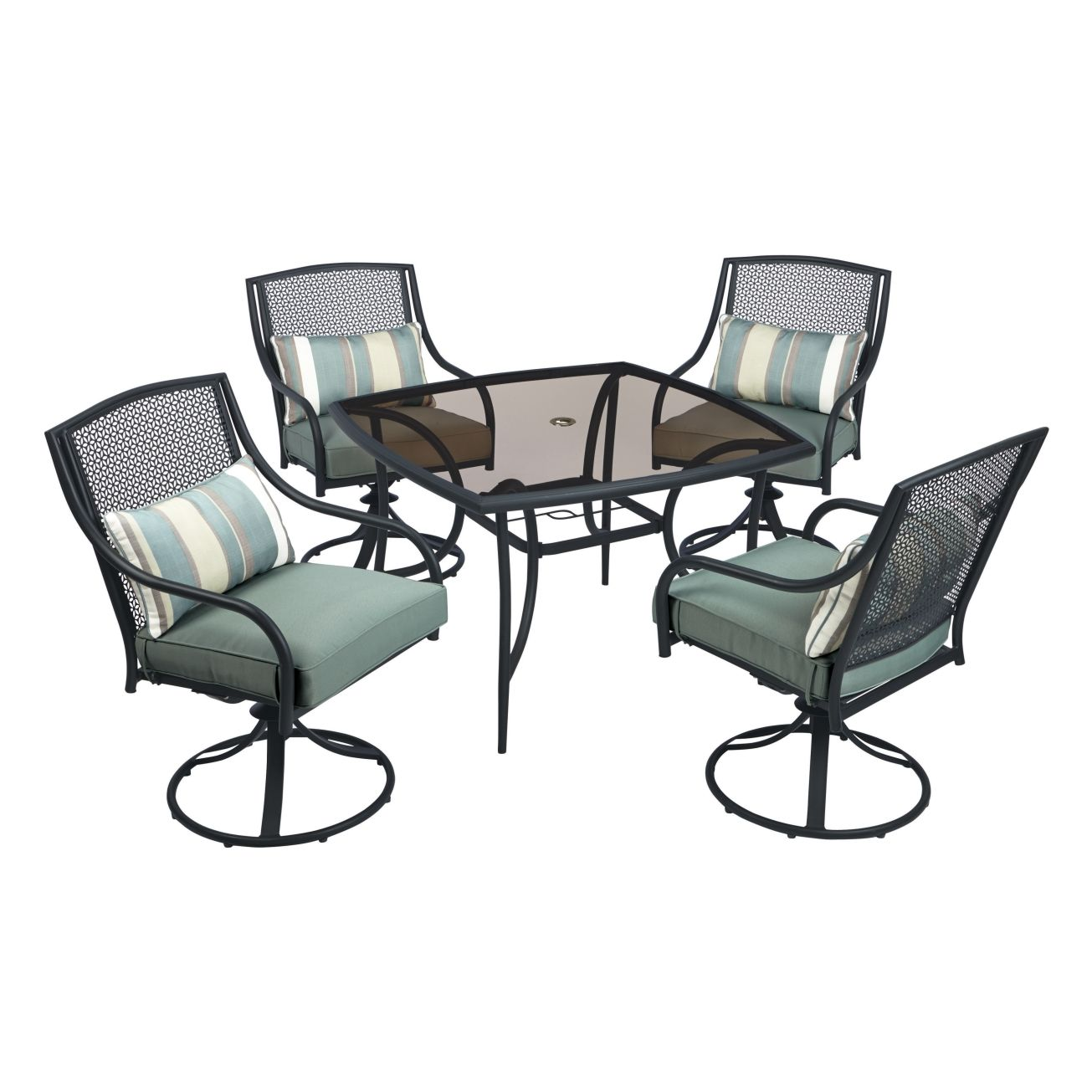 Living Accents Addison 5 Piece Dining Set - All Patio Collections ...