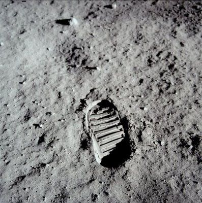 """That's one small step for [a] man, one giant leap for mankind.""  Neil Armstrong"