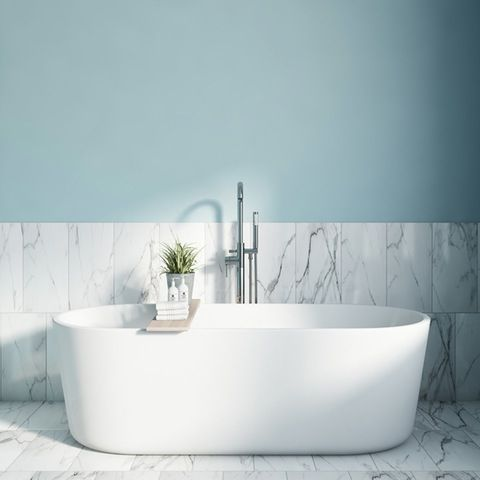 White Kitchen Bathroom Paint craig rose bluebell dream kitchen bathroom paint 2.5l
