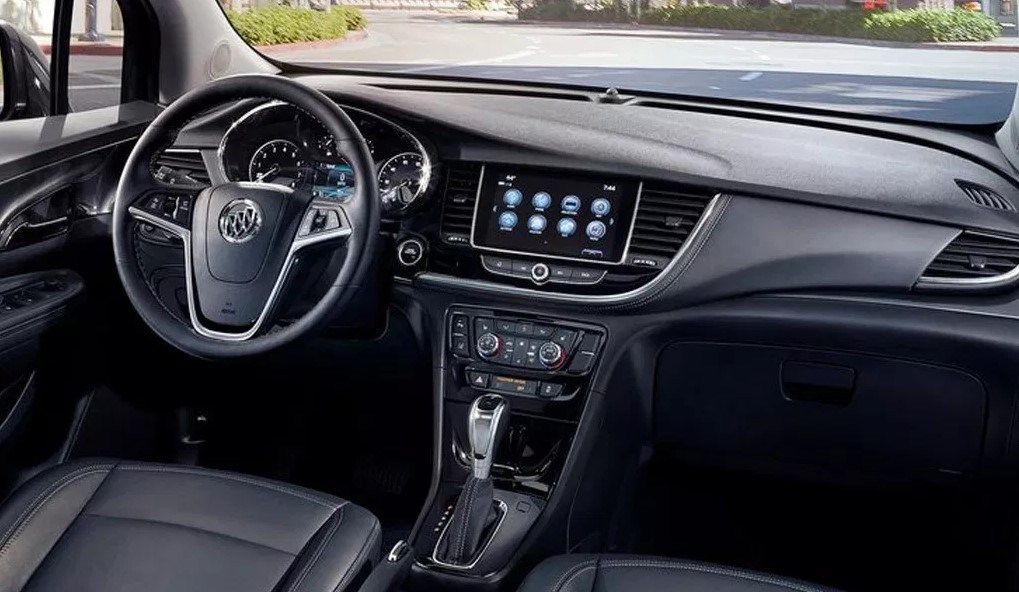 2020 Buick Encore Dashboard And Technology