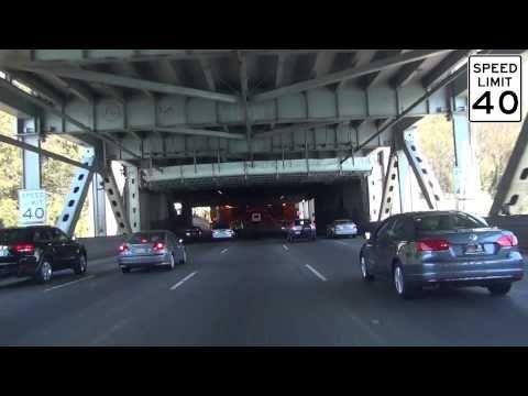 Crossing the Old San Francisco-Oakland Bay Bridge - YouTube