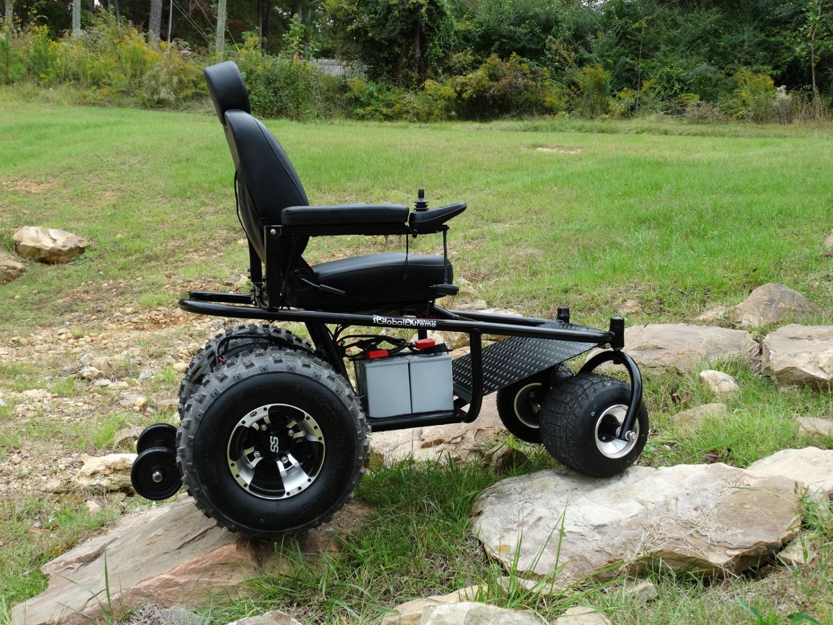 2013 Nomad Powered Wheelchair | Global Extreme Mobility Chairs in