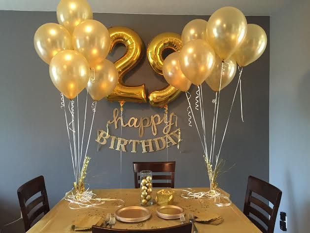 Unnamed Birthday Party Decorations For Adults Golden Parties Games Kids