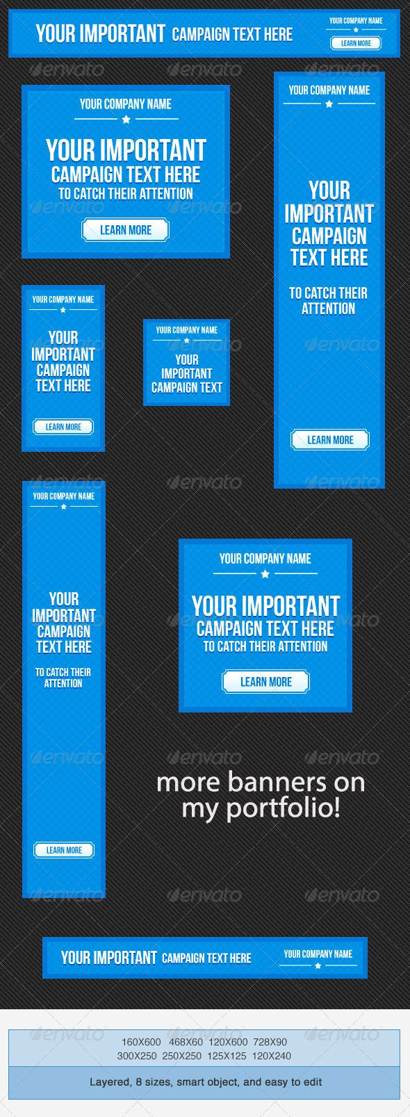 here s another set of psd banner ad template for general web