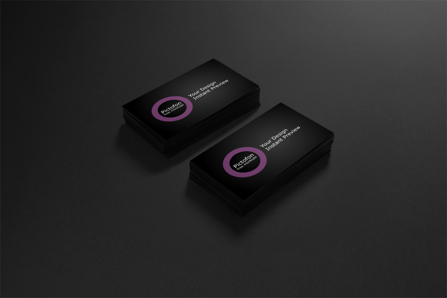 New business cards mockups have been added to Pictofon