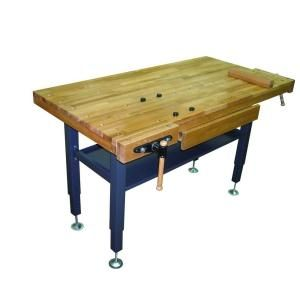 General International, 60 in. x 30 in. Oak Work Bench, 95-060 at The Home Depot - Mobile