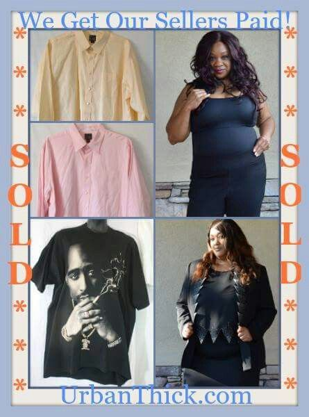 e3630320e71 Sold items from UrbanThick.com An online clothing closet and consignment  store for plus size women and big & tall men.