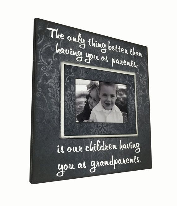 Grandparents Photo Frame Gift  The only thing by MemoryScapes #grandparentphoto Grandparents Photo Frame Gift  The only thing by MemoryScapes #grandparentphoto