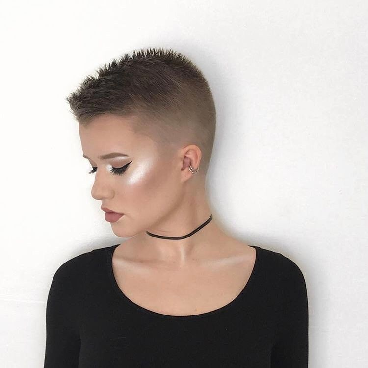 pink grapefruit buzzed pixie hair by hairbykayleen short cuts in 2018 pinterest short. Black Bedroom Furniture Sets. Home Design Ideas