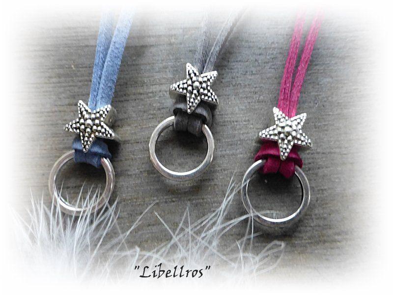 Charm- & Bettelketten - Basiskette aus Veloursband - ein Designerstück von Libellros bei DaWanda