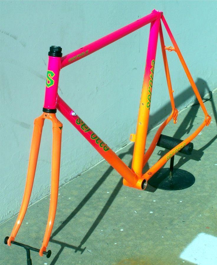 Bike Paint Neon Fade Google Search Bike Frame Custom Bikes
