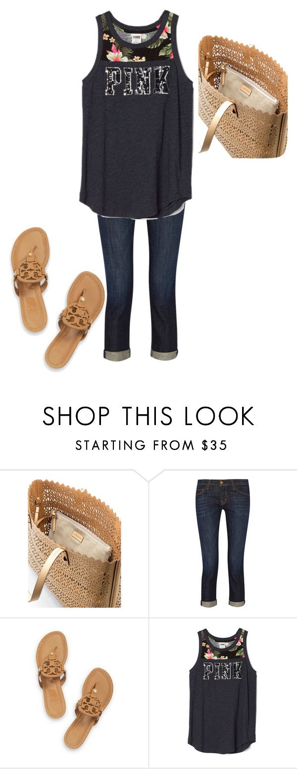 """""""Untitled #145"""" by dauntless-darling on Polyvore featuring Stella & Dot, Current/Elliott and Tory Burch"""