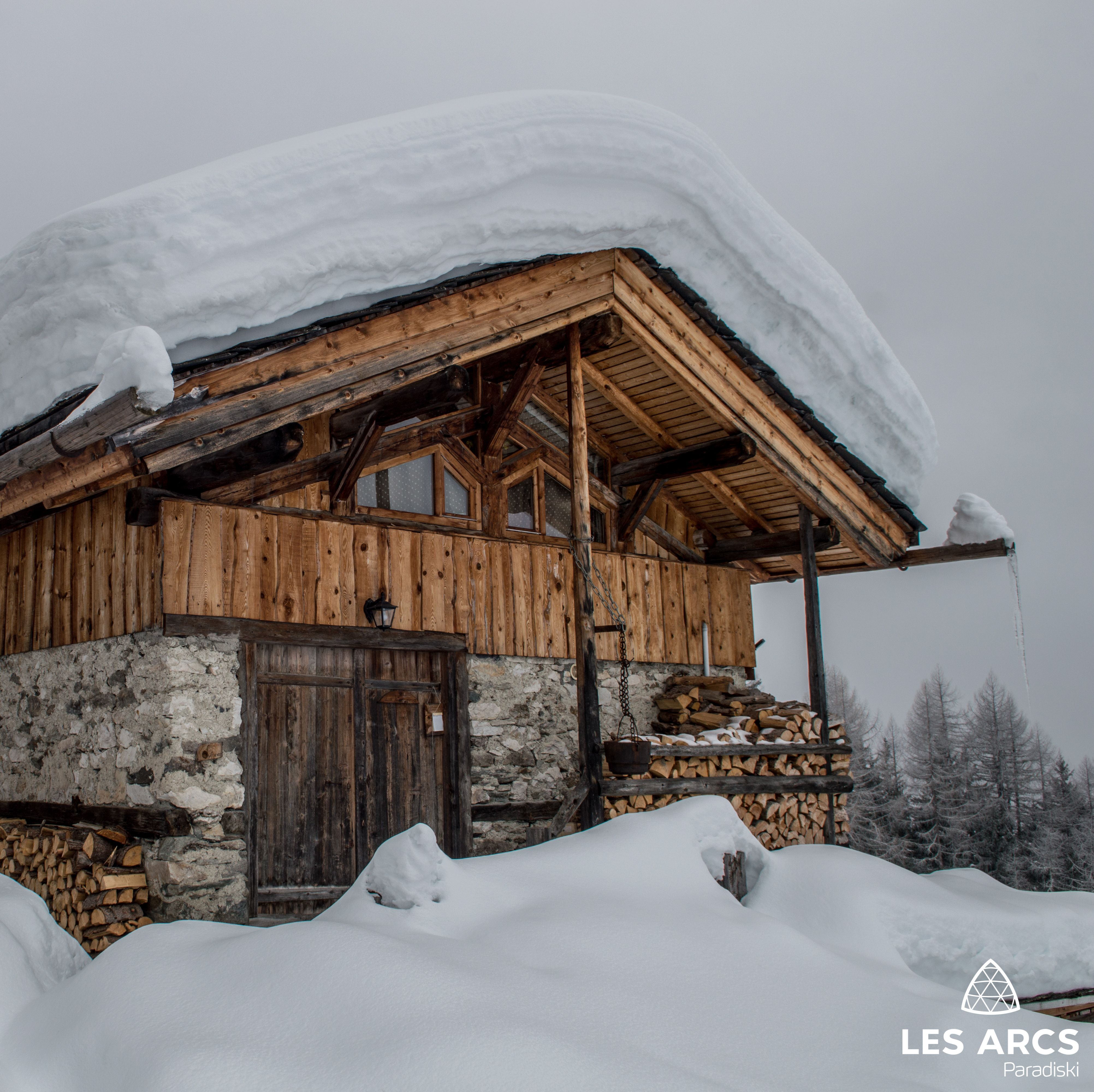 Chalet D Alpage En Montagne Les Arcs En Savoie Chalet Bois
