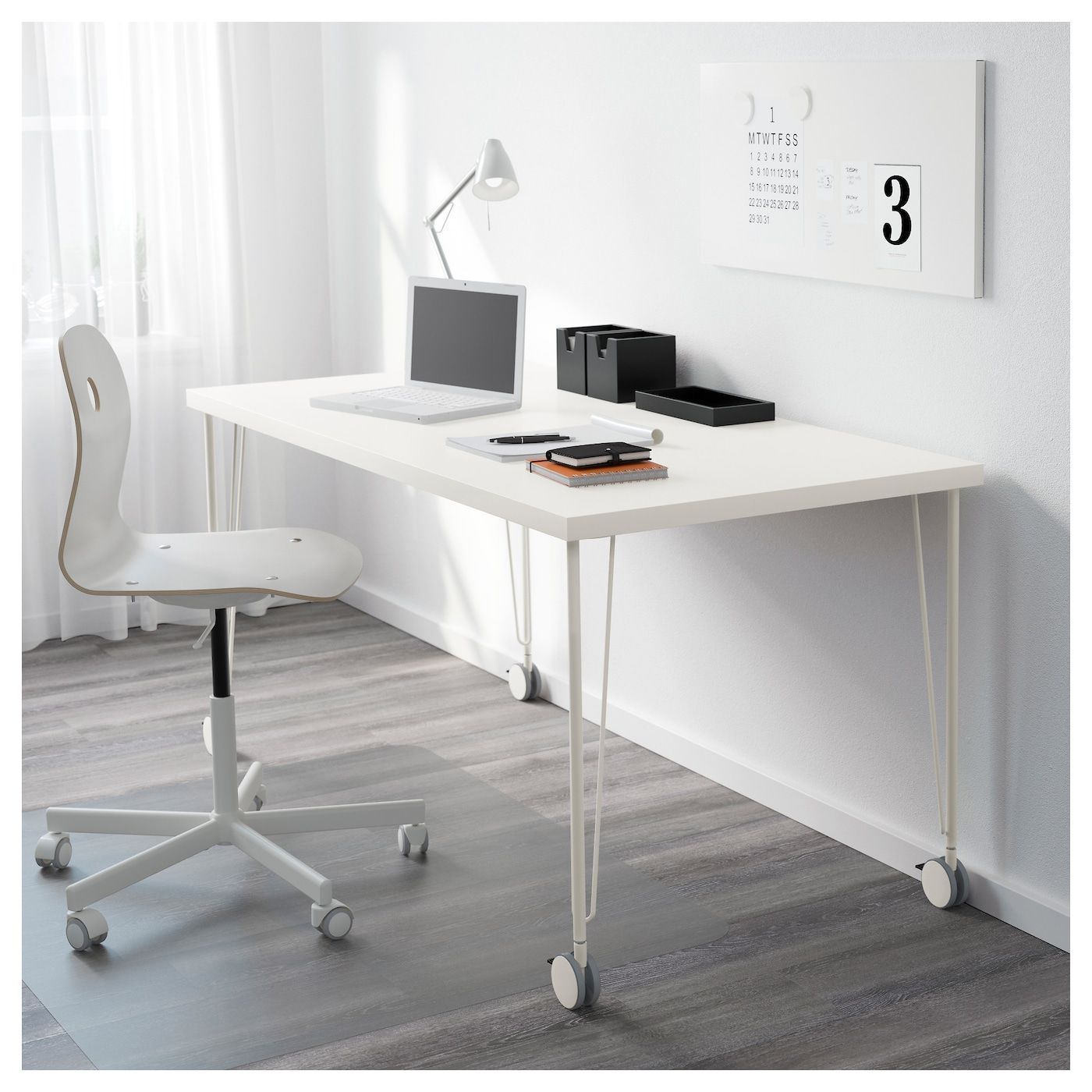 Linnmon Tabletop White 59x29 1 2 Ikea Drawer Unit Affordable Furniture Linnmon Table Top