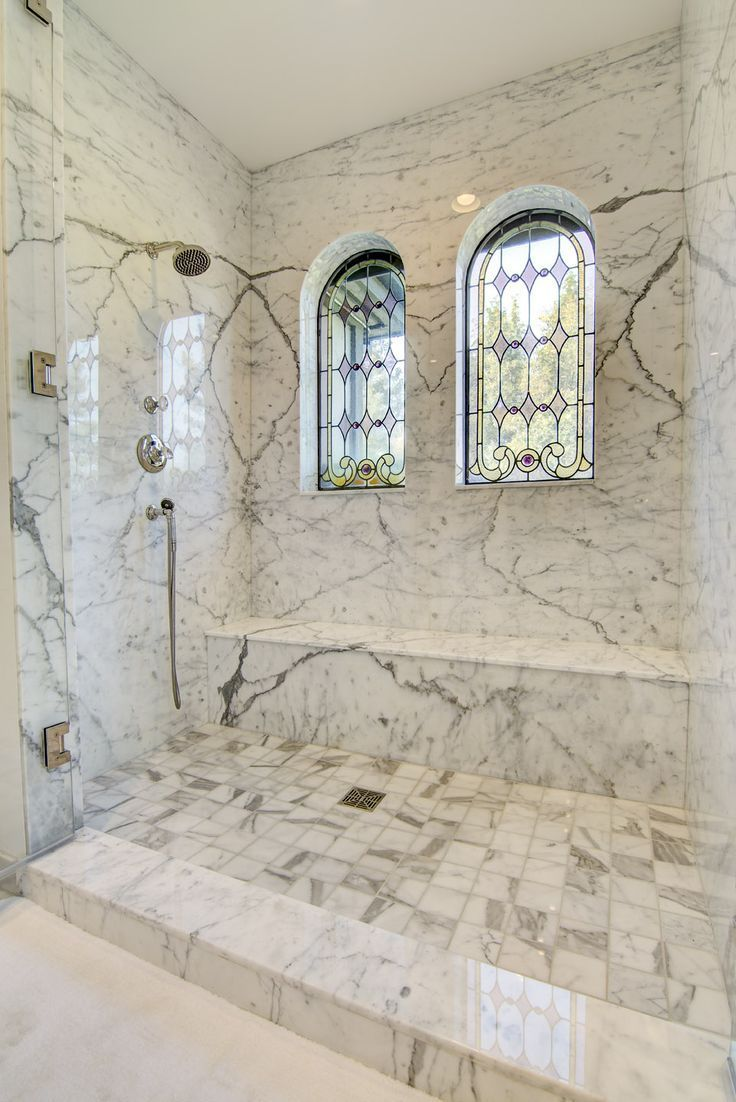 Whispering Oak image by Yvonne Robertson Granite shower