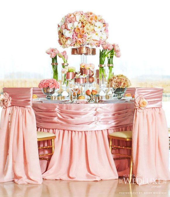 Spring Wedding Reception Ideas: 2014 Spring Luxury Wedding Reception Table Decorations