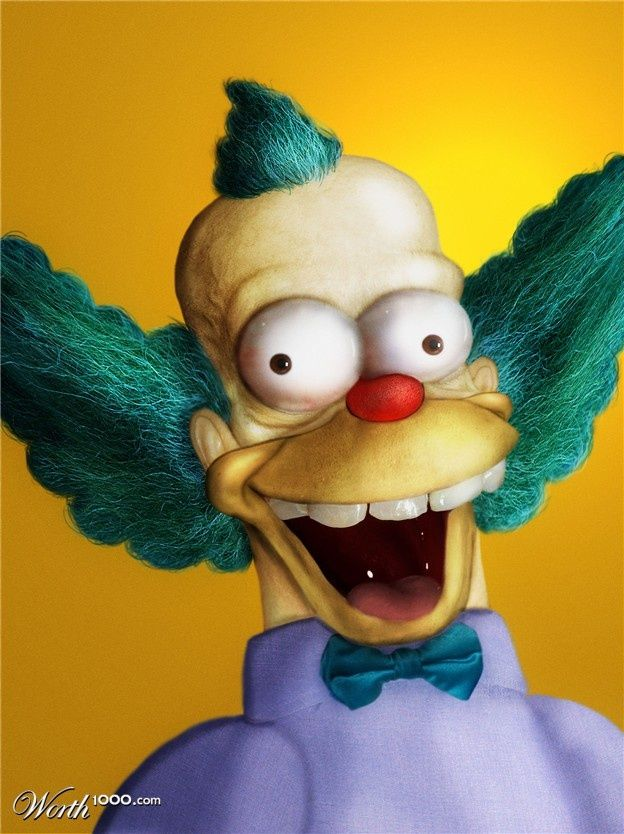 Famous Cartoon Characters In Real Life Famous Cartoons Real - 18 realistic cartoon characters that are the stuff nightmares are made of