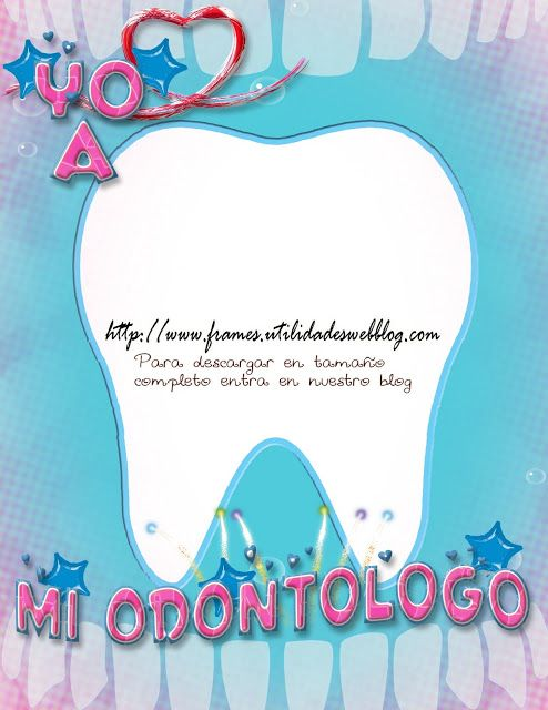 Marco para fotos del Día del Odontólogo o dentista | gifts ...