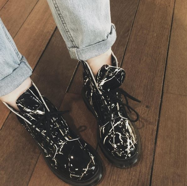 DR MARTENS 1460 PASCAL MARBLE | Boots