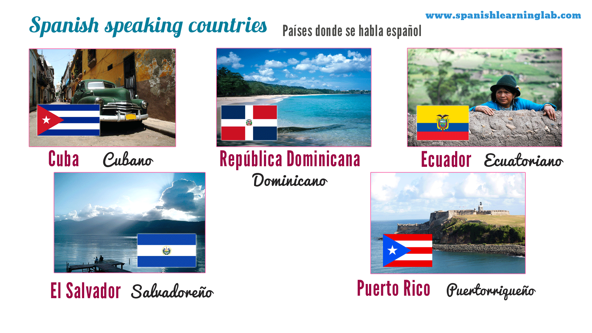 5 More Spanish Speaking Countries