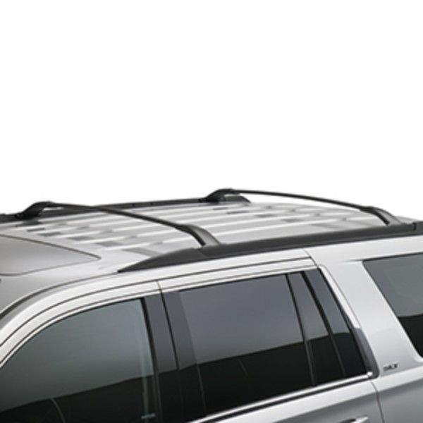 2015 Yukon Roof Rack Cross Rail Package Black Yukon