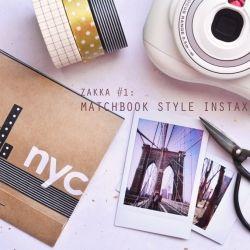 Matchbook Style Instax Album