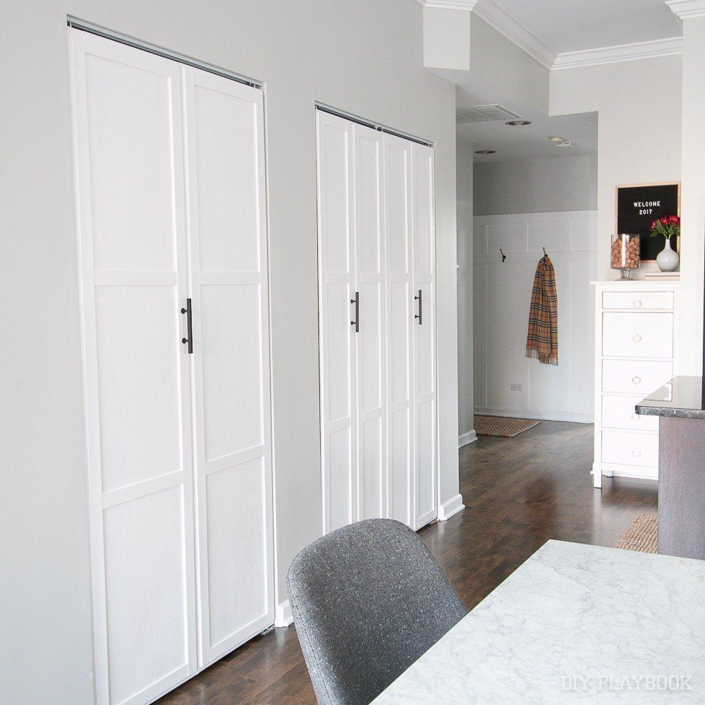 How To Add Trim To Plain Bifold Doors Doors Budgeting And Living