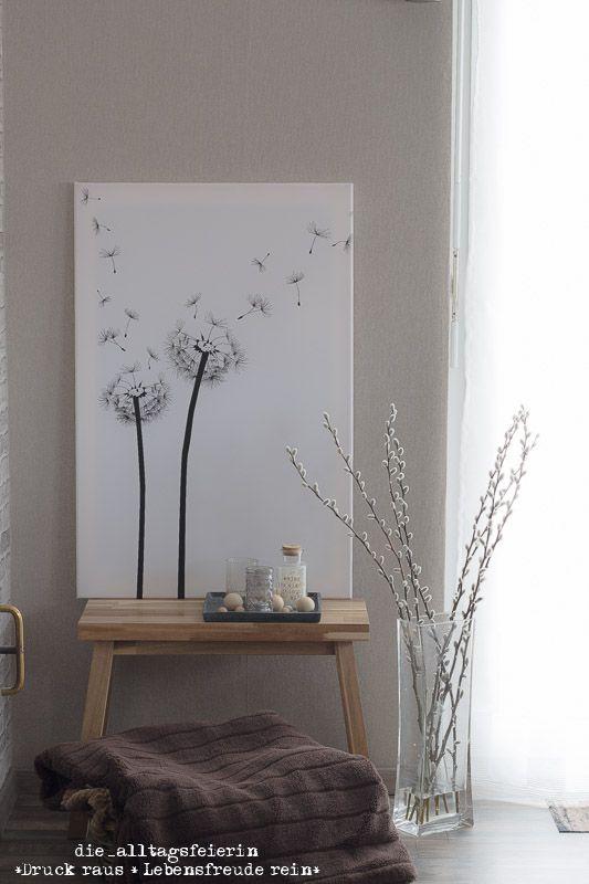 Pusteblume ,Interior, Wohnraumgestaltung, Pixer, Leinwand, Bild ...