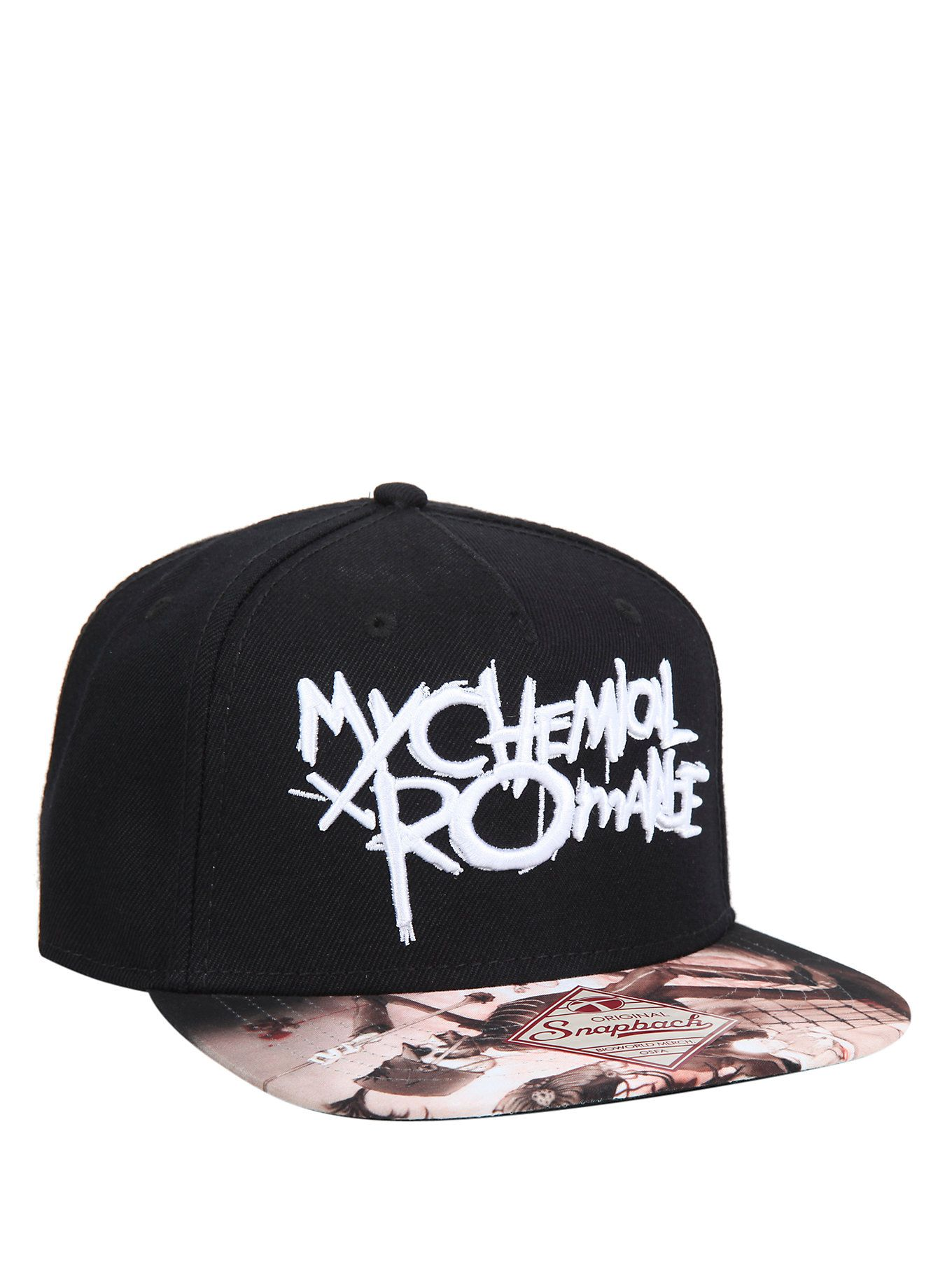 My Chemical Romance Snapback Hat  8b5719633ea7