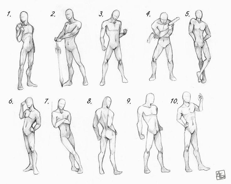 Male frames   Drawing References in 2018   Pinterest   Drawings ...