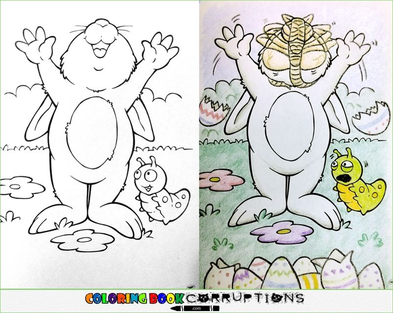 15 Crazy Coloring Book Corruptions Pic I Am Bored Coloring