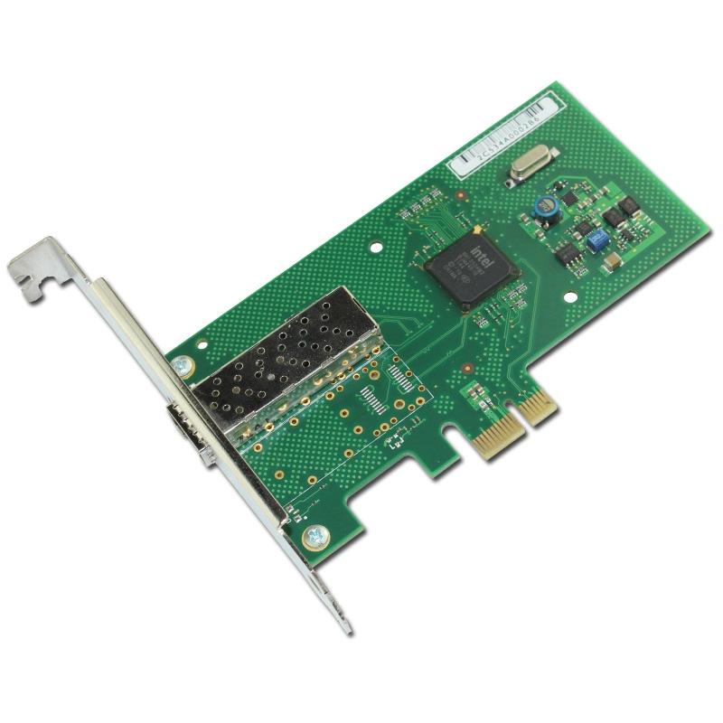 132.99$  Buy here - http://alithi.worldwells.pw/go.php?t=32712133471 - Single Port PCI-E X1 Gigabit Fiber Server Adapter SFP+ INC Card NHI350AM2 Chipset