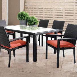 Lovely Resin Wicker Manhattan Patio Set From Sears Canada