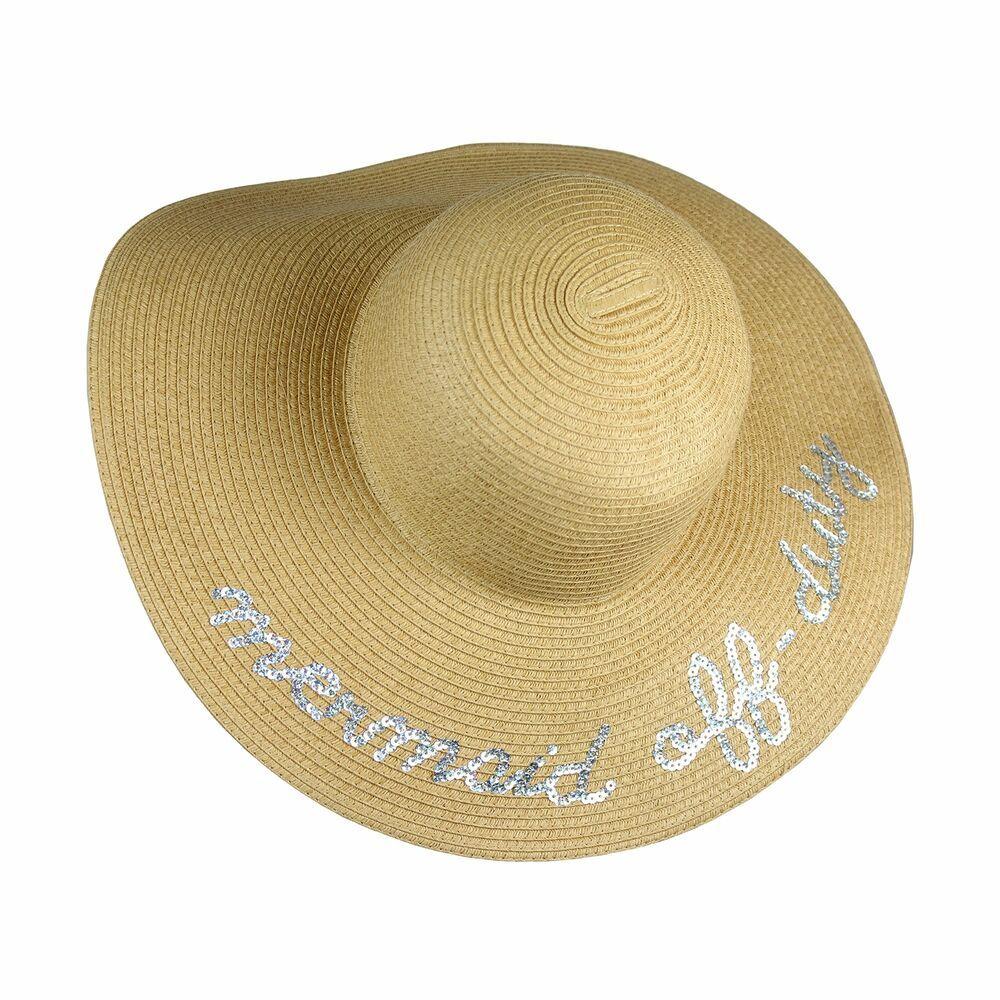 86a6fffc UPF 50+ Large Straw Floppy Sun Hat- Weaved Tweed Crushable Wide Brim Beach  Ca