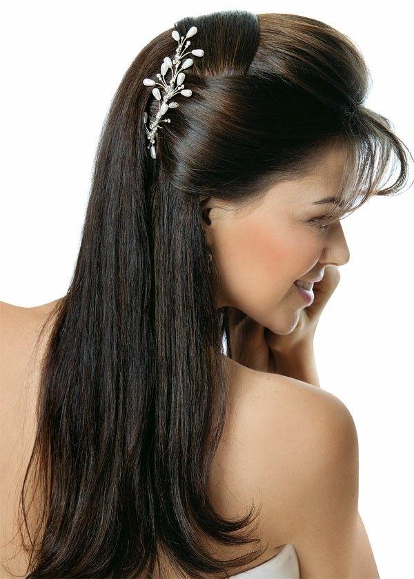 Peinados Para Novias Y Bodas Peinados Pelo Lacio Peinados Poco Cabello Peinados Cabello Lacio
