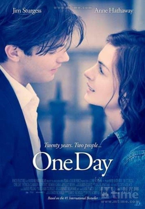 """One day"" movie adapted from the British writer David Nicholls best-selling novel of the same name, ""one day."""