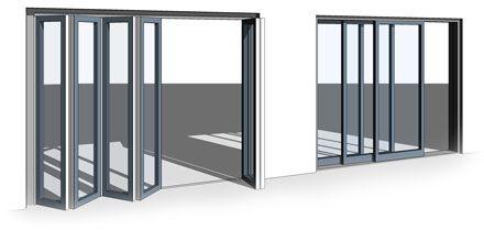 All In One Revit Bi Fold/Sliding Door Family   The Door