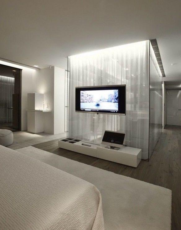 Moderne Architektur Und Interior Design In Weiss Design Wohnung
