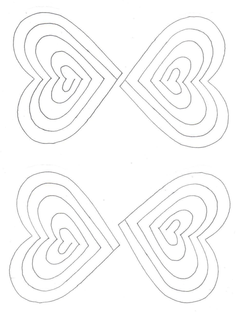 Creators Joy Simple Printable Popup Valentine Card – Pop Up Valentine Card Template