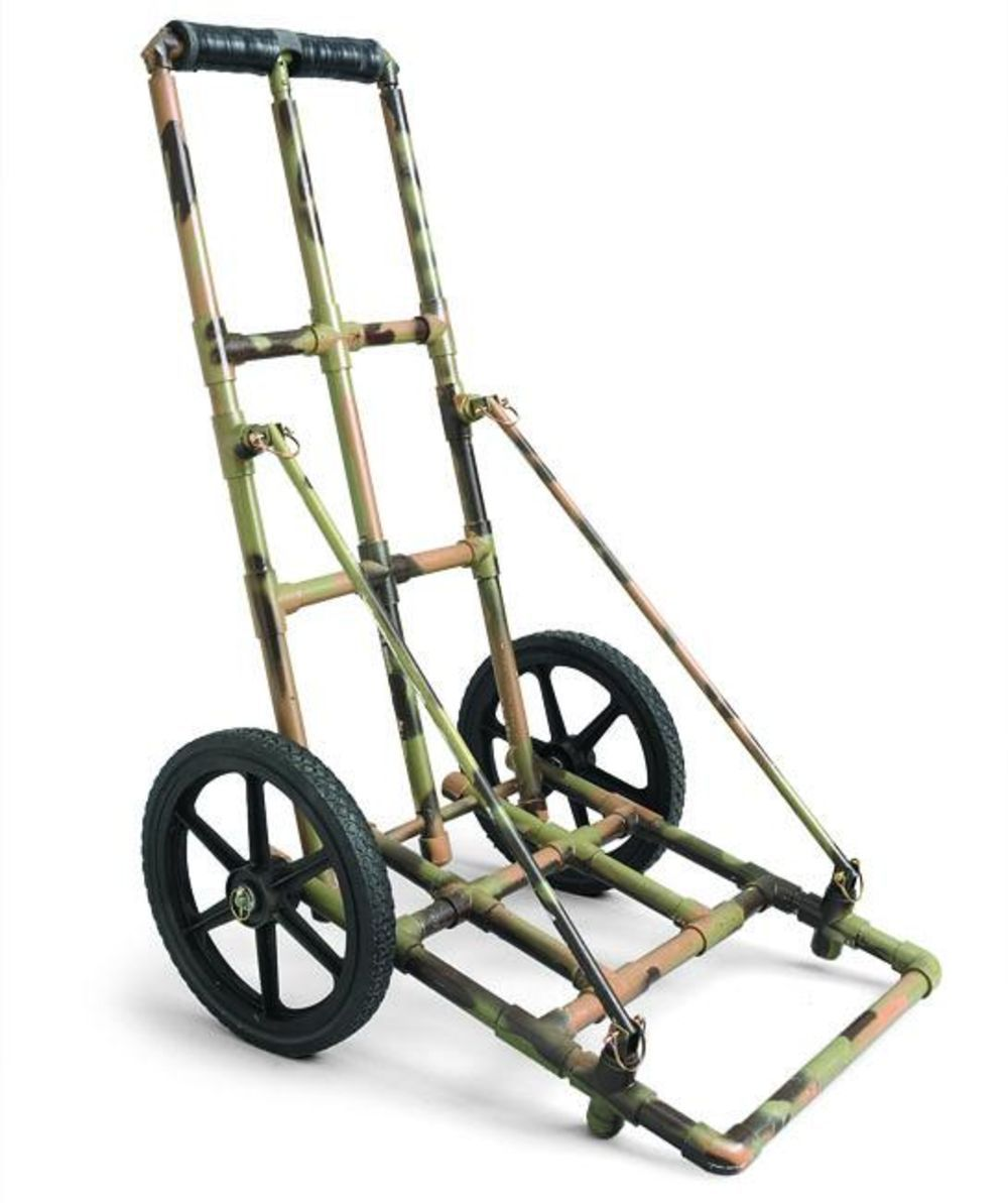 Build a game cart for 100 hunting blinds hunting