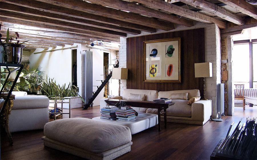 un piso entre lo rstico y lo moderno ideas reformas viviendas