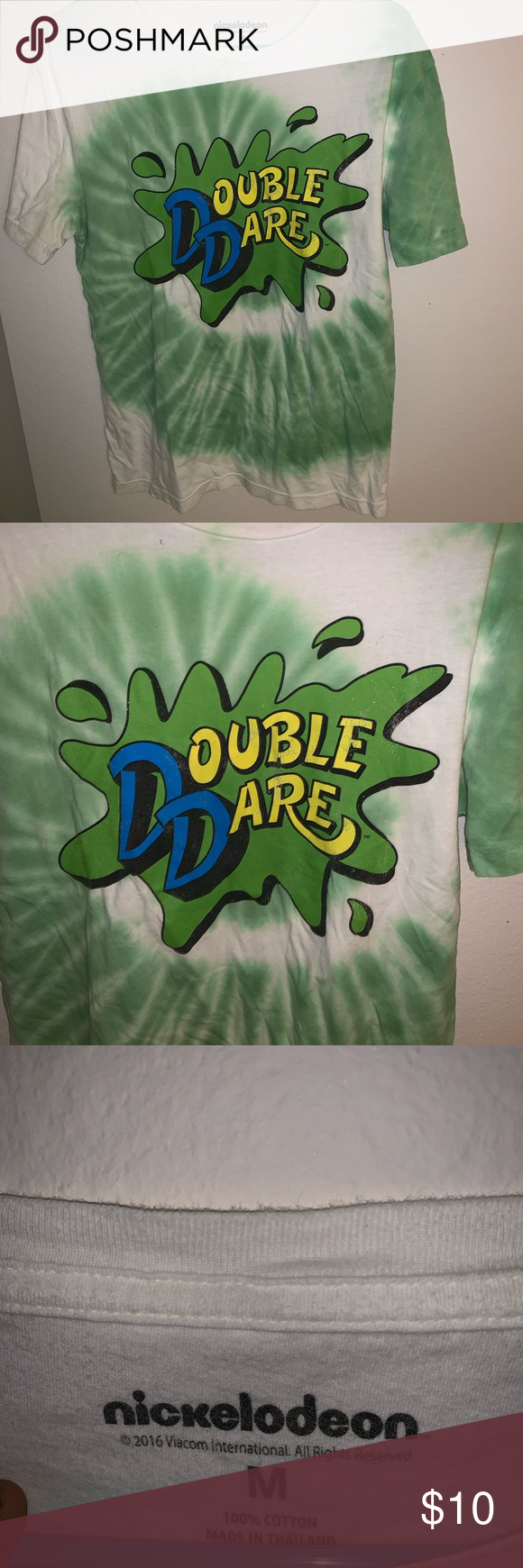I Just Added This Listing On Poshmark Nickelodeon Double Dare T Shirt Shopmycloset Poshmark Fashion Shopping Style Dare T Shirt Double Dare Nickelodeon