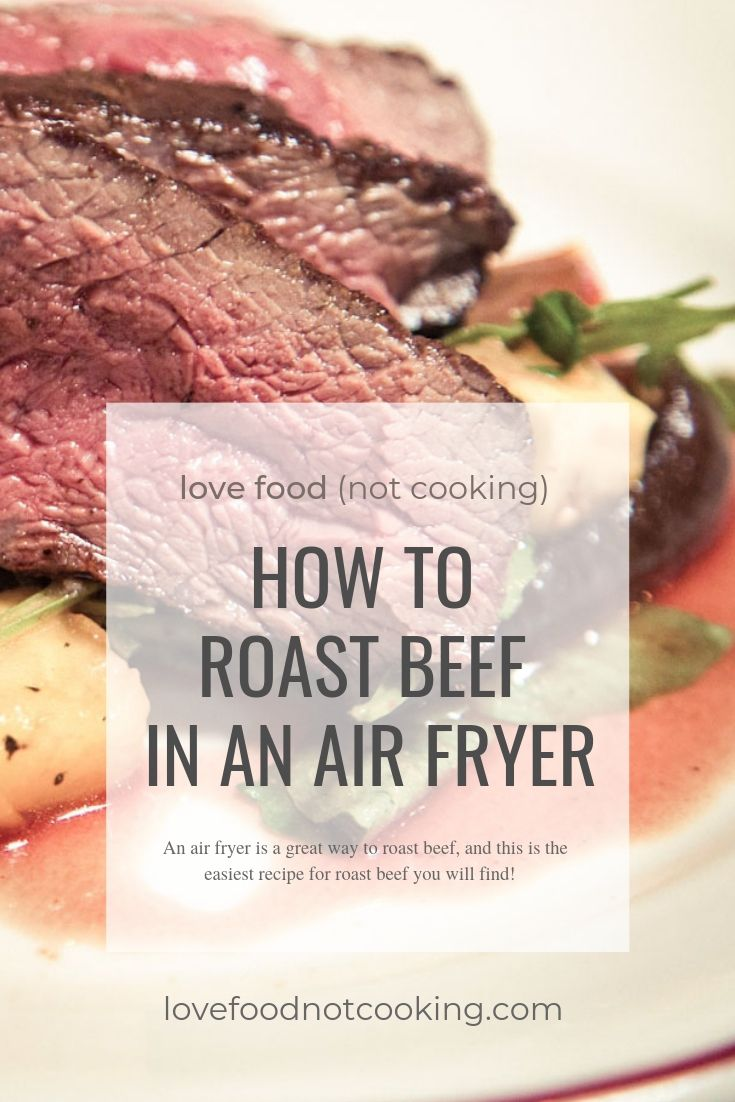 Photo of Air Fryer Roast Beef