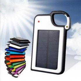 Ga voor groen! Laad je telefoon met de Solar Charger die op zonne-energie werkt. Met deze oplader heb je altijd stroom om je telefoon, camera, mp3 speler op te laden. MegaGadgets.nl