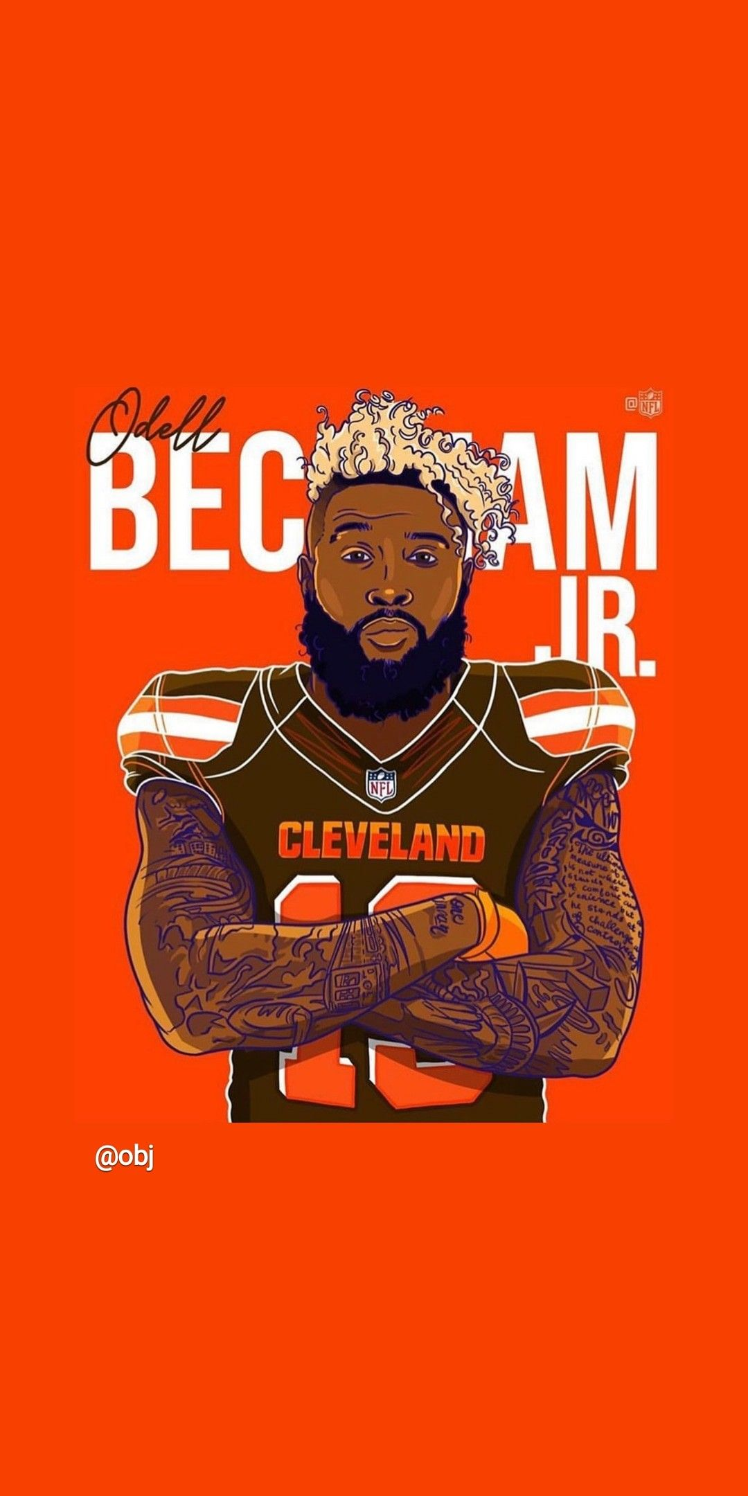 Pin by cindy ervin on browns Odell beckham jr wallpapers
