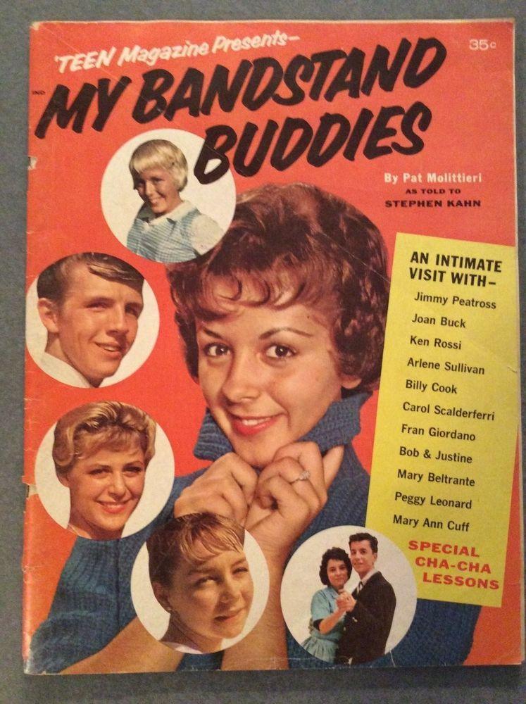 Teen Magazine My American Bandstand Buddies Dancers Dick -6621